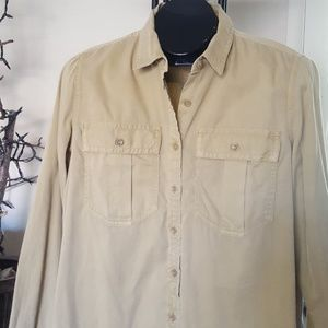 Banana Republic khaki shirt